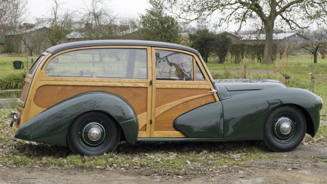 Rare and beautiful 1948 Healey Woodie wagon on Ebay