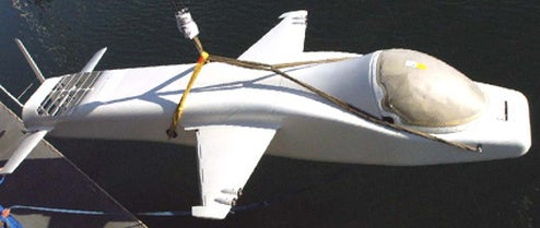 A Look at Steve Fossett's Super Secret Flying, Diving, Space Bound Submersible