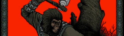 Get your stinking paws on these glorious Planet of the Apes posters!
