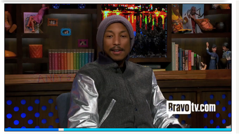 Pharrell Williams Talks About Being a Cooch Man, Getting His Period