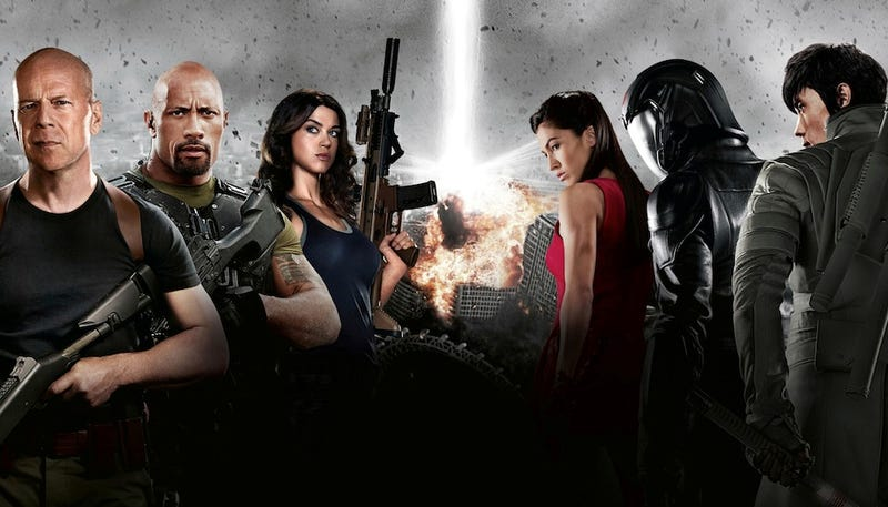 G.I.Joe 2 says knowing this week's DVD releases is half the battle