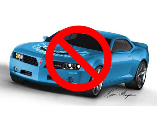 "No New Pontiac Trans Am, GM To Scale Back ""Performance"" In ""Performance Division"""