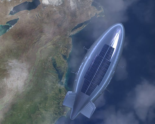 Global Blimp Network Will Deliver Our Goods by 2020