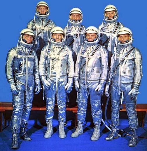 The Magnificent Mercury Seven: NASA's First Astronauts, 50 Years Ago Today