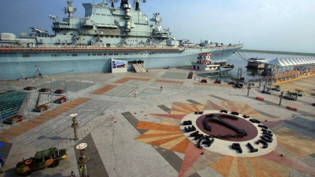 China turns Soviet aircraft carrier into hotel