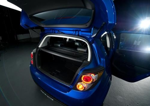 Chevy Aveo RS Show Car: Live Photos