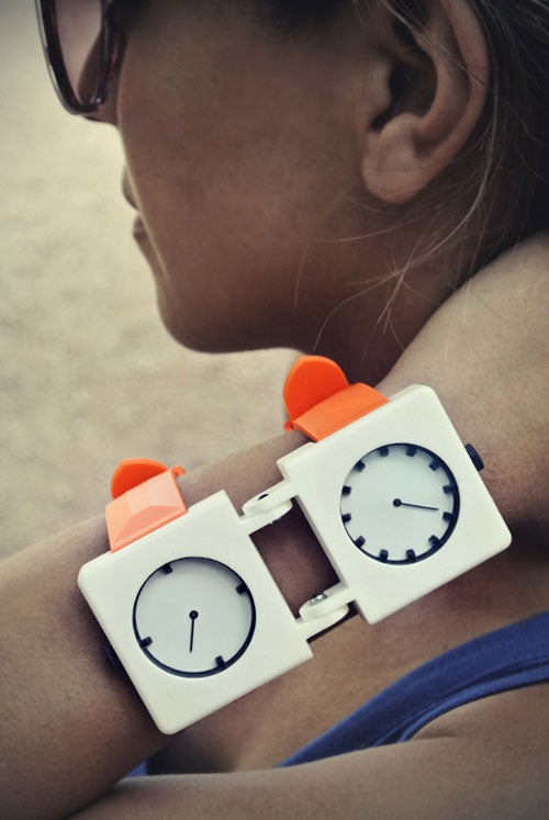 This Two-Faced Watch Design Makes Telling Time Twice As Hard