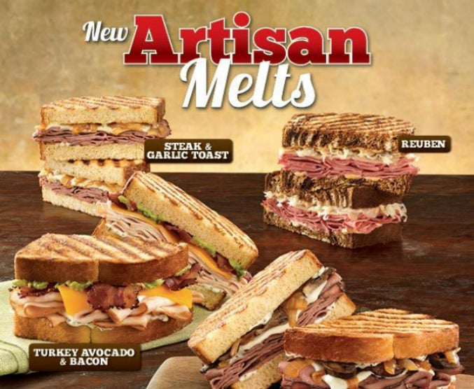 "Fast Food Roundup: Arby's Goes ""Artisan"" and Subway Scams Its Workers"
