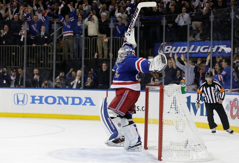 How Henrik Lundqvist Lugged The Rangers To The Finals