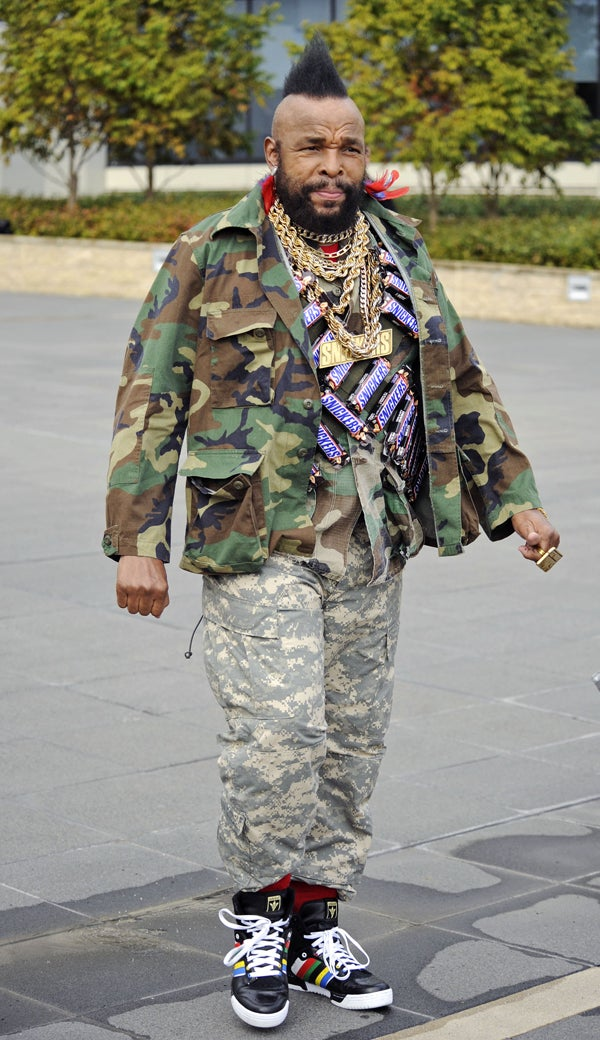 Mr. T Pawns Gold For Candy; World Snickers