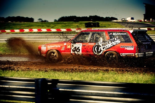 '78 Ford Station Wagon Wins Rallycross #2