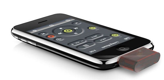 Change the Channel WIth Your iPhone and the L5 Remote IR Adapter