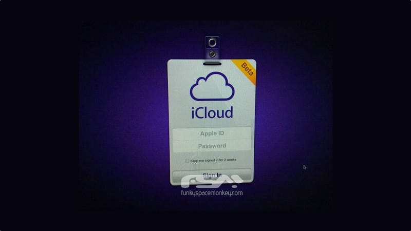 ICloud's Login Screen Might Look Like This