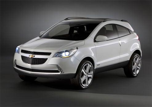Chevrolet GPiX Concept Revealed In Brazil