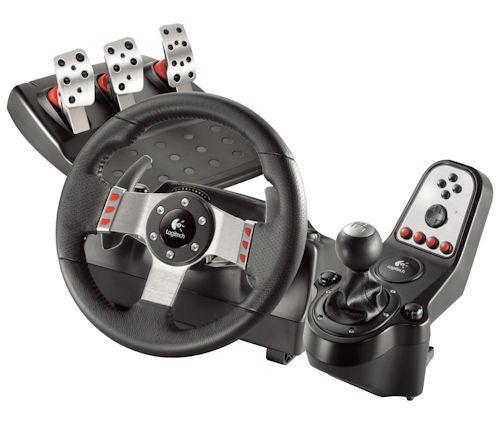 Logitech G27 Racing Wheel Helps Race Fans Shift Gears