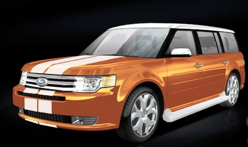 2009 Ford Flex To Be Priced At $28,295, That White Roof Is Gonna Cost You