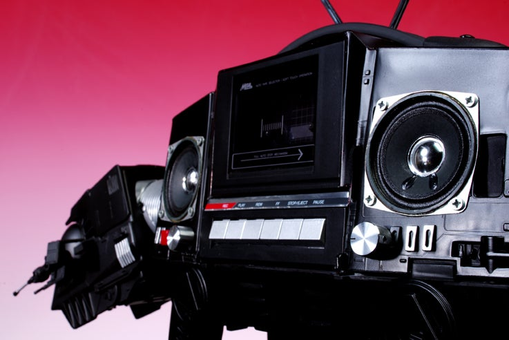 AT-AT Walker Boombox Is So Awesome I Want to Cry