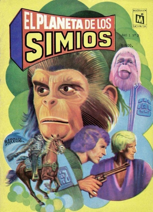 International Planet of the Apes comic covers prove that we all hate talking chimps