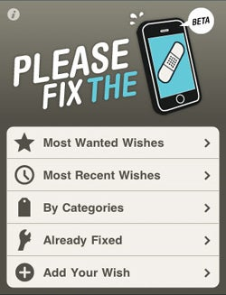 Please Fix the iPhone Site Bugs Jobs About Your Biggest iPhone Complaints