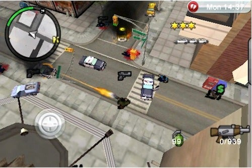 Grand Theft Auto: Chinatown Wars Hits the App Store