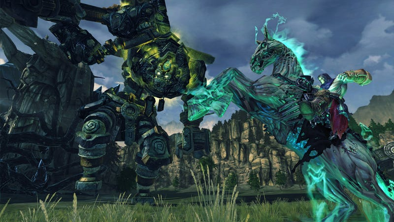 It Takes a Pretty Big Boss Monster to Face Down Darksiders II's Death