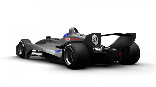 Gallery: Swift Engineering 2012 IndyCar Proposal