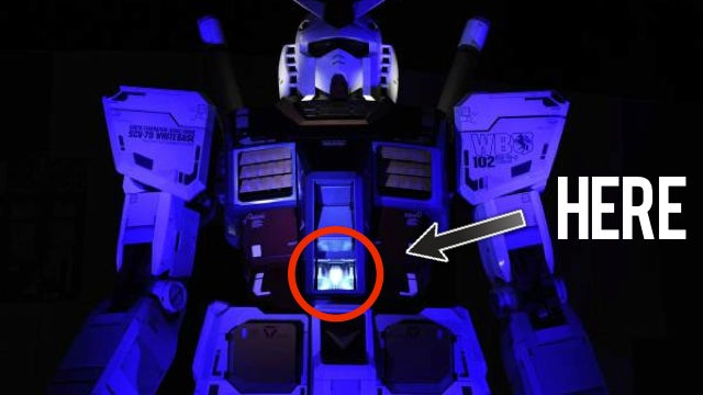 Would You Like To Pilot the Life-Sized Gundam? Virtually?