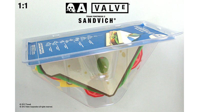 Only One Game Could Inspire a 1:1 San Diego Comic-Con Exclusive Sandwich Action Figure