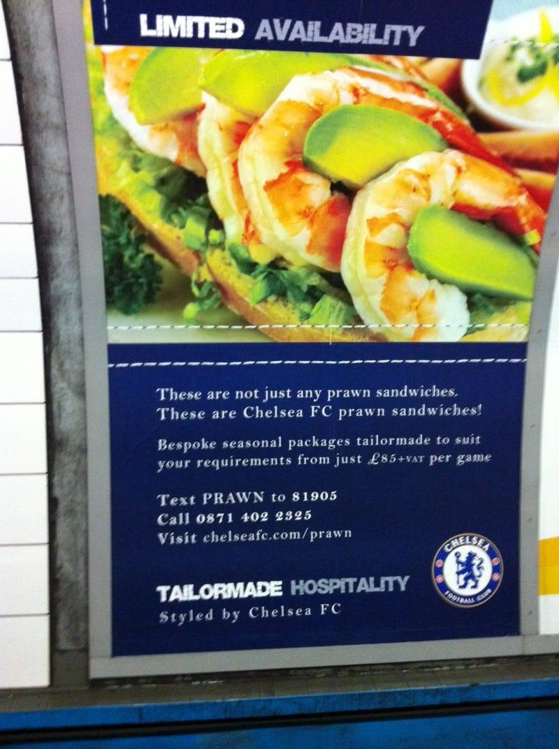 Chelsea Embraces The Prawn Sandwich Brigade
