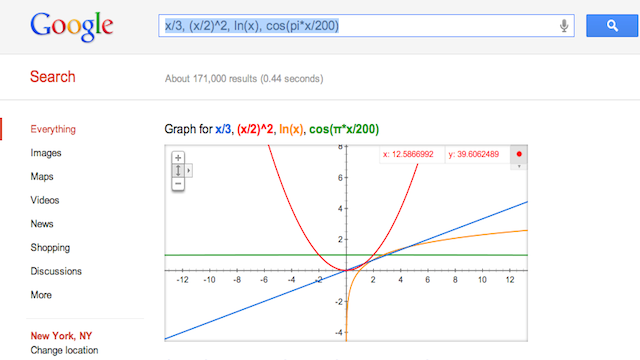 Google's Nerdiest Move Ever: Now It's a Graphing Calculator!