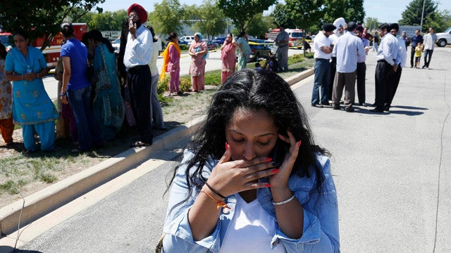 Six Victims Killed in Sikh Temple Shooting, Wounded Officer Kills Gunman (UPDATED)