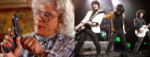 Gun-Wielding Madea Bravely Fends Off Be-Hotpanted Jonas Brothers