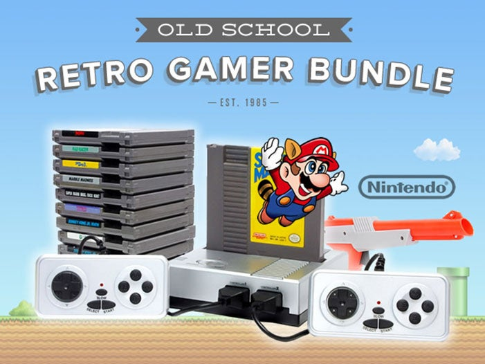 A Holiday Treat - 30% off the Retro Nintendo Gaming Bundle