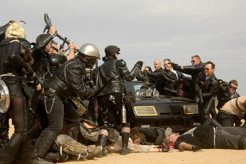 Three days of Mad Max-style mayhem: an exclusive look at the cars, the weapons and the gear!