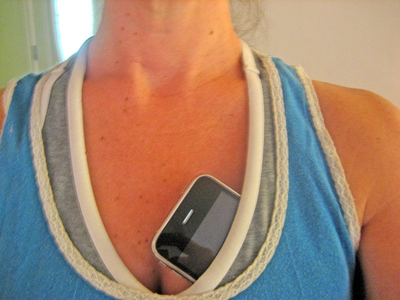 Breasts: An Ideal Place to Keep Your iPhone