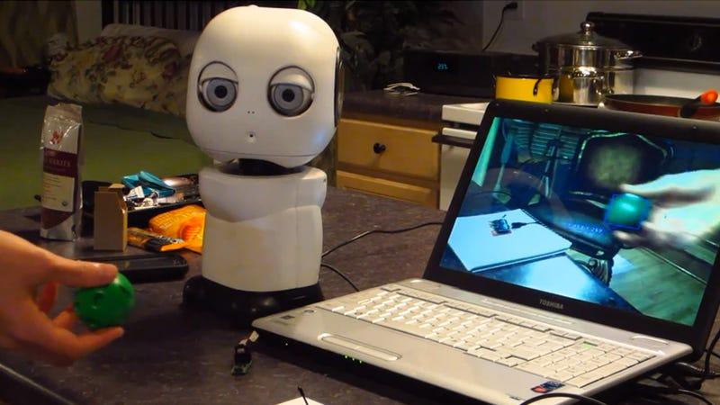 Print An Interactive Robot On The 3D Printer You Totally Have