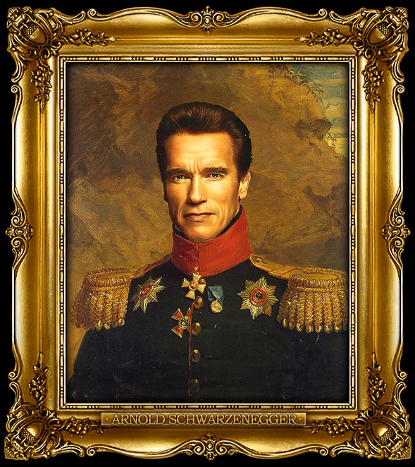 Science fiction and fantasy icons look downright dashing in 19th century Russian regalia