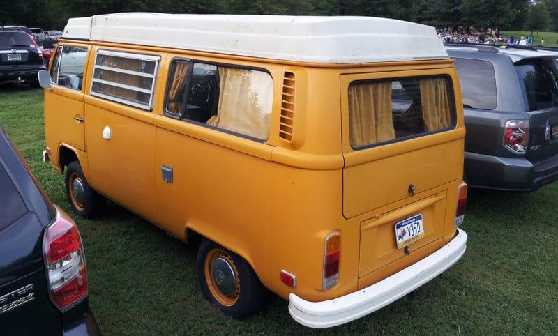 Spotted: Proper VW Camper Van... (more SR20 inside)