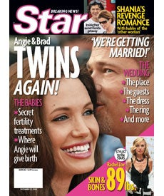 Angelina & Brad: Twins Again?!?