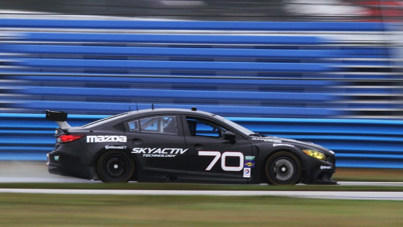 The Mazda6 Diesel Race Car Is All Sorts Of Wonderful