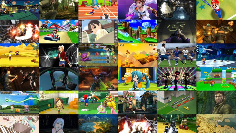 What Games Did Nintendo Show Today?