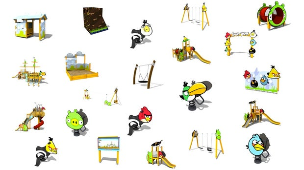 Your Kids Will Be Playing On Angry Birds Playground Equipment Next Year