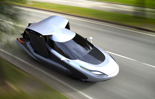 Terrafugia Releases New Driverless Flying Car... Animation