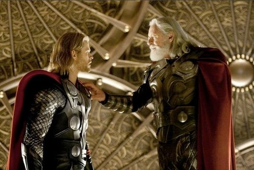 Thor describes his most humbling moment in the presence of Odin