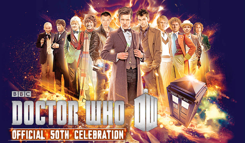 The whole 'Eleventh Hour' panel from the Doctor Who 50th Celebration