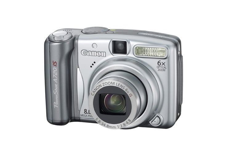 Canon Unveils PowerShot A720 IS and 12-megapixel A650 IS