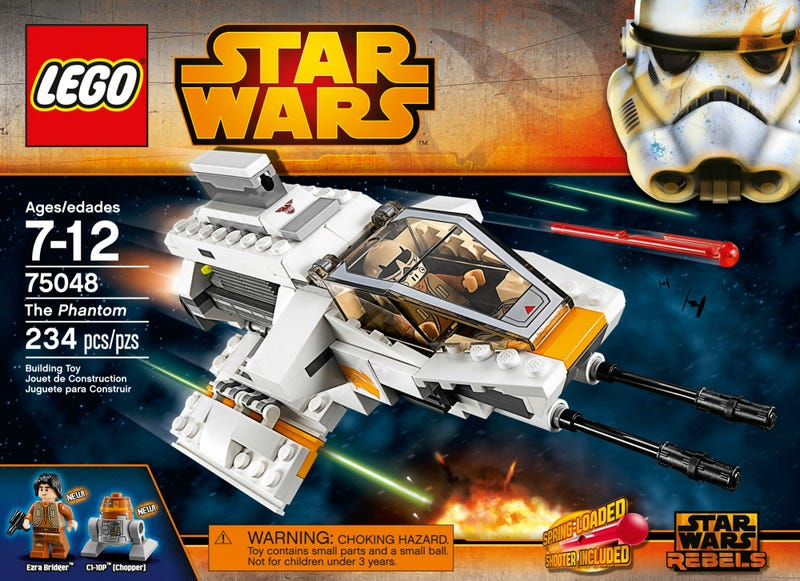 New Star Wars Rebels characters revealed—but in LEGO form
