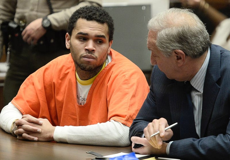 Famous Face-Puncher Chris Brown Released from Jail
