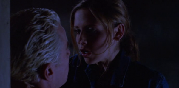 Buffy and Spike, oh mah GAH.