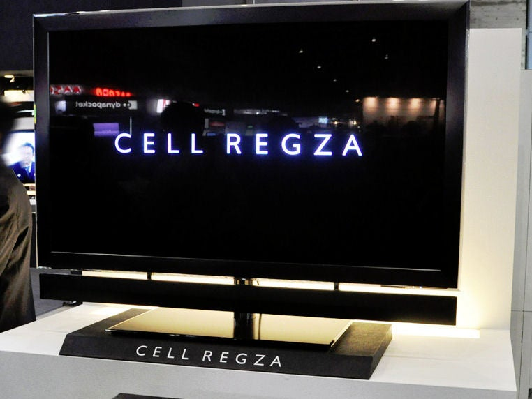 Toshiba's Cell-Powered REGZA 55X1 LCD TV Can Record and Display 8 Channels At Once